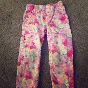 3T floral jeans, tutu for free with purchase